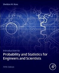 Introduction to Probability and Statistics for Engineers and Scientists, 5/e (Paperback)-cover