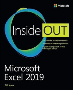 Microsoft Excel 2019 Inside Out-cover