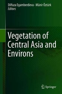 Vegetation of Central Asia and Environs-cover