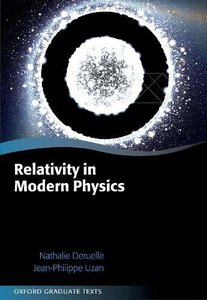 Relativity in Modern Physics (Hardcover)-cover