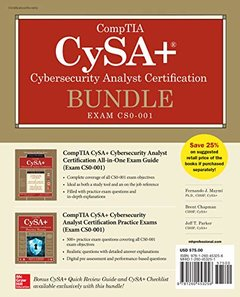 CompTIA CySA+ Cybersecurity Analyst Certification Bundle (Exam CS0-001)-cover