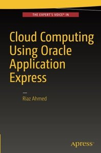 Cloud Computing Using Oracle Application Express-cover