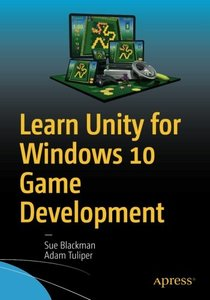 Learn Unity for Windows 10 Game Development-cover