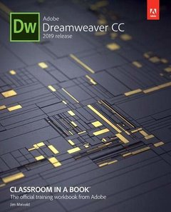 Adobe Dreamweaver CC Classroom in a Book (2019 Release)-cover