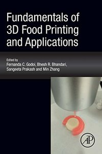 Fundamentals of 3D Food Printing and Applications-cover