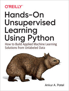 Hands-On Unsupervised Learning Using Python (Paperback)-cover