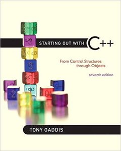 Starting Out With C++ : From Control Structures Through Objects, 7/e (美國原版)-cover