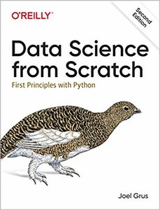 Data Science from Scratch: First Principles with Python, 2/e (Paperback)-cover
