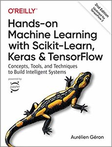 Hands-On Machine Learning with Scikit-Learn, Keras, and TensorFlow, 2/e (Paperback)-cover