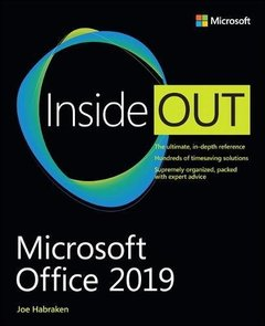 Microsoft Office 2019 Inside Out-cover