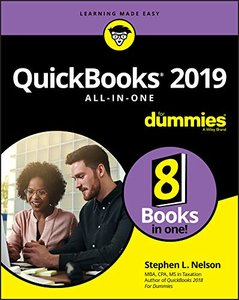 QuickBooks 2019 All-in-One For Dummies (For Dummies (Business & Personal Finance))-cover