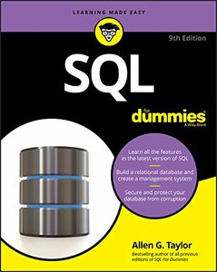 SQL For Dummies For Dummies (Paperback)-cover