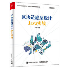 區塊鏈底層設計 Java 實戰-cover