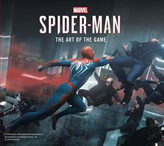 Marvel's Spider-Man: The Art of the Game-cover