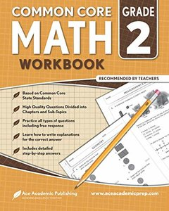 2nd grade Math Workbook: CommonCore Math Workbook-cover
