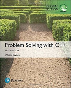 Problem Solving with C++, 10/e (GE-Paperback)-cover