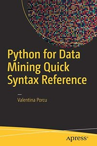Python for Data Mining Quick Syntax Reference-cover