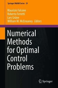 Numerical Methods for Optimal Control Problems (Springer INdAM Series)-cover