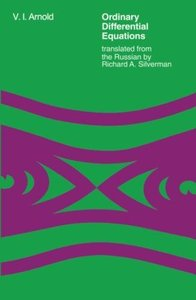 Ordinary Differential Equations (The MIT Press)-cover