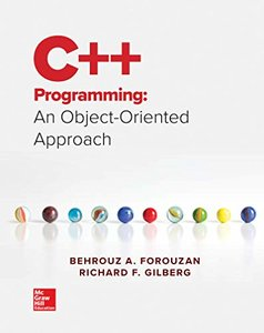 Loose Leaf for C++ Programming: An Object-Oriented Approach-cover