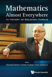Mathematics Almost Everywhere: In Memory of Solomon Marcus-cover