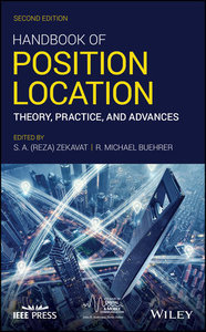 Handbook of Position Location: Theory, Practice, and Advances, 2nd Edition-cover