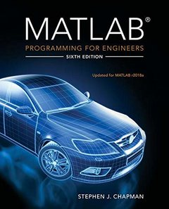 MATLAB Programming for Engineers, 6/e (Paperback)-cover