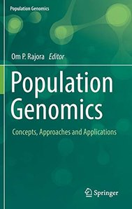 Population Genomics: Concepts, Approaches and Applications-cover