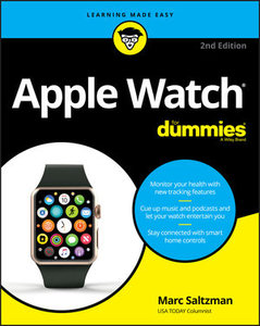 Apple Watch For Dummies, 2nd Edition-cover