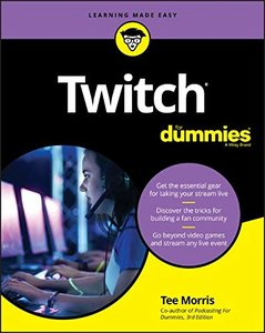 Twitch For Dummies-cover
