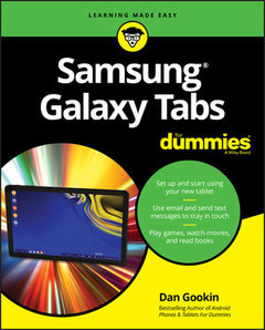 Samsung Galaxy Tabs For Dummies-cover