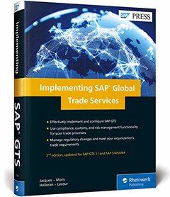 Implementing SAP Global Trade Services (SAP GTS) (2nd Edition) (SAP PRESS)-cover
