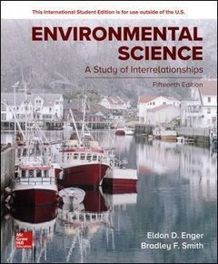 Environmental Science: A Study of Interrelationships, 15/e (Paperback)-cover