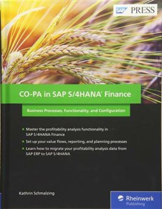 CO-PA in SAP S/4HANA Finance: Business Processes, Functionality, and Configuration (SAP PRESS)-cover