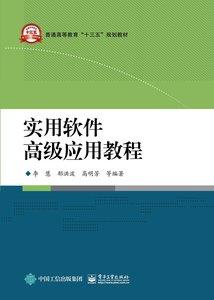 實用軟件高級應用教程-cover