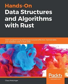 Hands-On Data Structures and Algorithms with Rust-cover