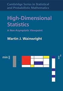 High-Dimensional Statistics: A Non-Asymptotic Viewpoint (Hardcover)-cover