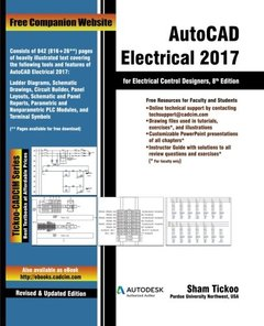 AutoCAD Electrical 2017 for Electrical Control Designers-cover