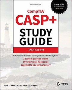 CASP+ CompTIA Advanced Security Practitioner Study Guide: Exam CAS-003-cover