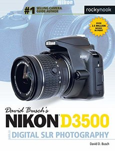 David Busch's Nikon D3500 Guide to Digital SLR Photography-cover