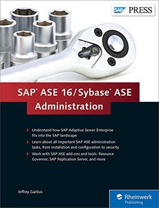 SAP ASE 16 / Sybase ASE Administration-cover