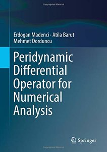Peridynamic Differential Operator for Numerical Analysis-cover