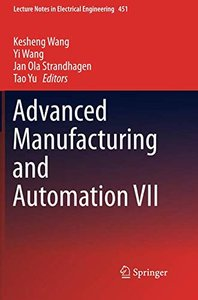 Advanced Manufacturing and Automation VII (Lecture Notes in Electrical Engineering)-cover