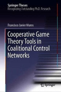 Cooperative Game Theory Tools in Coalitional Control Networks (Springer Theses)-cover