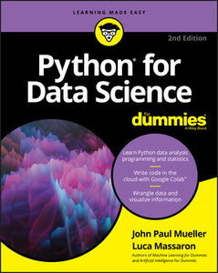 Python for Data Science For Dummies, 2nd Edition-cover