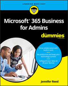 Microsoft 365 Business for Admins For Dummies-cover