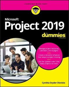Microsoft Project 2019 For Dummies-cover