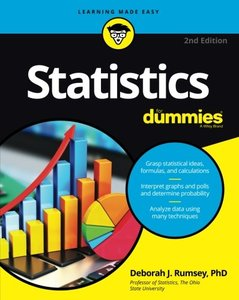 Statistics For Dummies (For Dummies (Math & Science))-cover