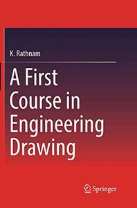 A First Course in Engineering Drawing-cover