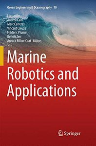 Marine Robotics and Applications (Ocean Engineering & Oceanography)-cover